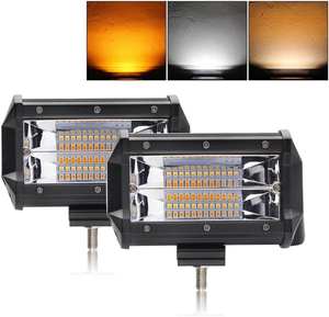 5 Inch Dual Colors Strobe Lights Bar JG-9628BS