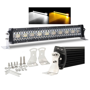 Off Road Led Dual Color Flash Light Bar for Trucks 9631-T-RQ