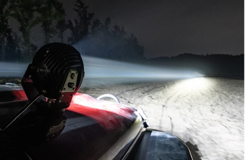 off road laser driving light working picture