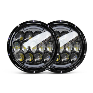 "7"" Inch Round Led Headlight Factory Directly J005A"