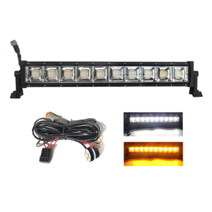 Multicolor light bar Temperature Adjustable Flashing Light Bar JG-9613BS